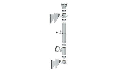 Schornstein-Bausätze doppelwandig