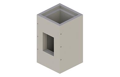 Schachtsysteme für Öl-/Gas-Feuerstätten